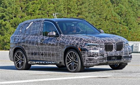 new bmw x5 new 2019 bmw x5 drops heavy camo to reveal brawnier design