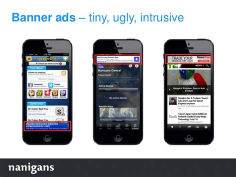 mobile ads 4 leading mobile ad types of 2017 banner ads still exist