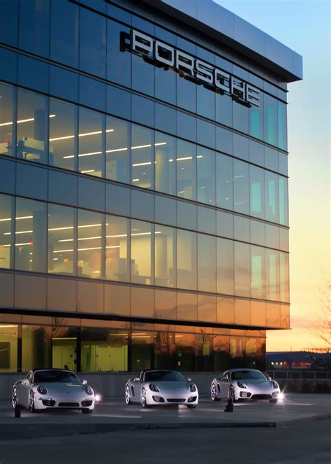 porsche headquarters testing out the new porsche experience center in atlanta