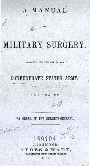 a manual of surgery or hints on the emergencies of field c and hospital practice classic reprint books a manual of surgery guide to civil war