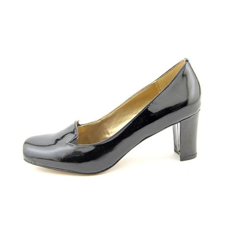 black patent leather pumps circa joan david voyeur women patent leather black heels