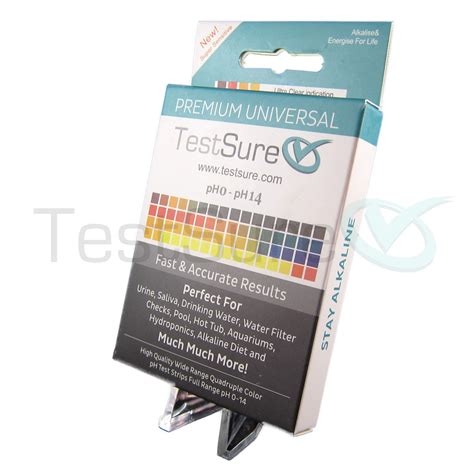 test ph ph test strips for water soil ph test paper test sure