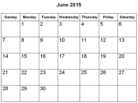 printable planner june 2015 image gallery june 2015 calendar with holidays