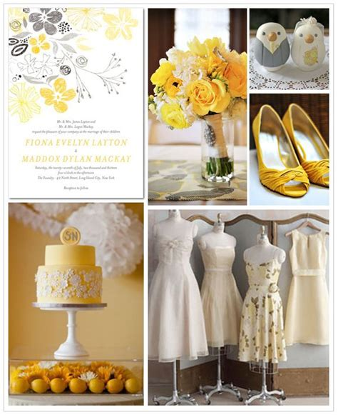 91 best images about yellow and gray wedding ideas on yellow weddings craspedia and