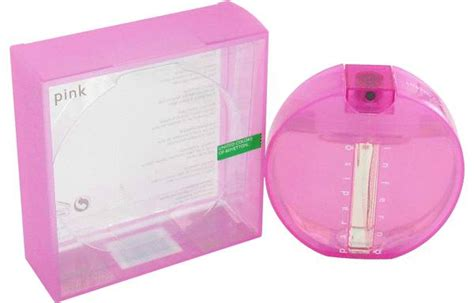 Benetton Pink inferno paradiso pink perfume for by benetton