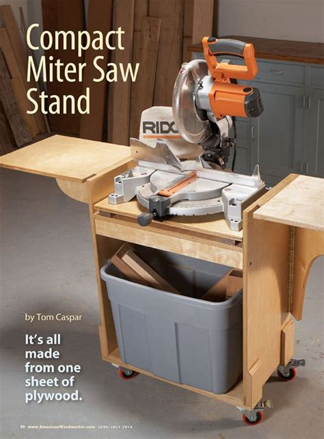 miter saw bench plans info mitre saw stand plans pdf bert jay