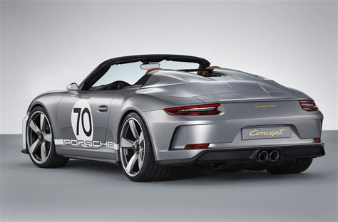concept porsche concept 911 speedster aux origines de porsche