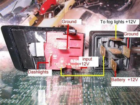vwvortexcom original fog light switch wiring diagram