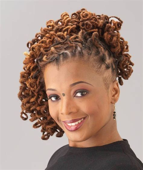 loc hairstyles for women short loc styles loc updos hairstyles for black women