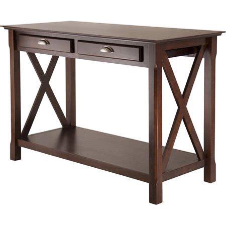 xola end table cappuccino xola 3 coffee console end table value bundle