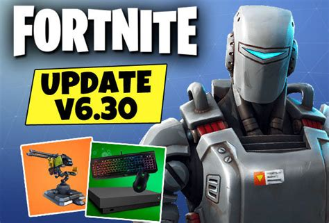 fortnite update  patch notes early epic games news