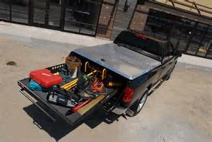 Truck Bed Cargo Management Products Slide Out Cargo Systems Medium Duty Work Truck Info