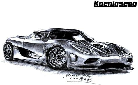 koenigsegg car drawing koenigsegg agera supercar by toyonda on deviantart