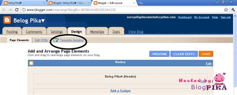 tutorial menggunakan blogger syapeko 1 tutorial mencantikkan blog menggunakan