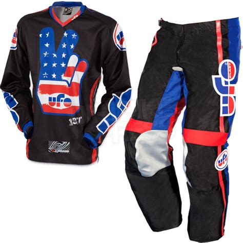 ufo motocross boots 2015 ufo vintage kit combo black dirtbikexpress