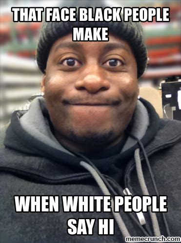 face black people