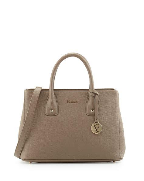 Furla Tote Bag furla serena leather tote bag in brown lyst