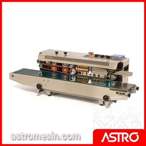 Alat Press Plastik Surabaya mesin continuous sealer surabaya harga mesin sealer