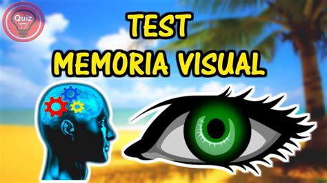 test memoria test de memoria visual