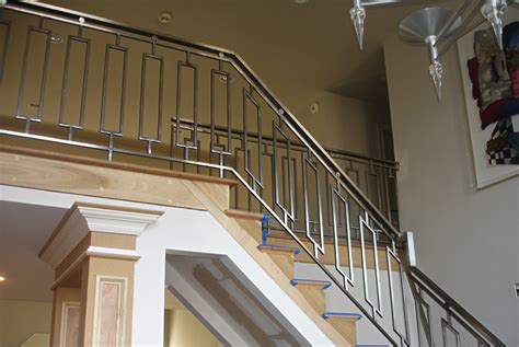 steel banister steel railings stainless steel railing cool ideas