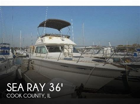 used sea ray boats for sale in illinois for sale used 1983 sea ray 36 aft cabin in chicago