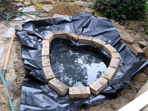 how to build a fish pond or garden pond 6 steps