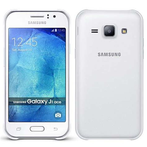 Samsung Galaxy J1 White samsung galaxy j1 ace white acdc mobile