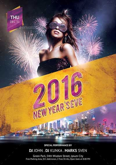 new year templates 2016 top 30 new year flyer templates psd flyer for