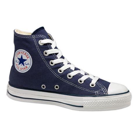 Converse All Hi Navy converse all hi sneakers navy sportus