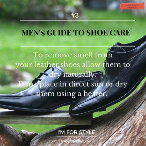 science the of shoe care i m for style