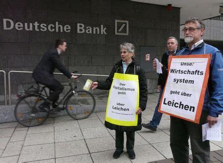 deutsche bank leverkusen brot f 252 r die bank protest der ordensleute f 252 r den