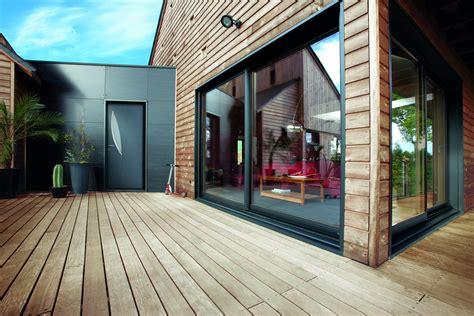 fenetres bois valais courbevoie devis de maison couleur peinture menuiserie may baie coulissante mixte bois alu mc france