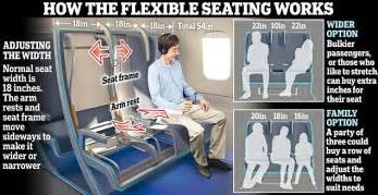 United Airlines Carry On Size by New Morph Seating Concept Will Make Travel More