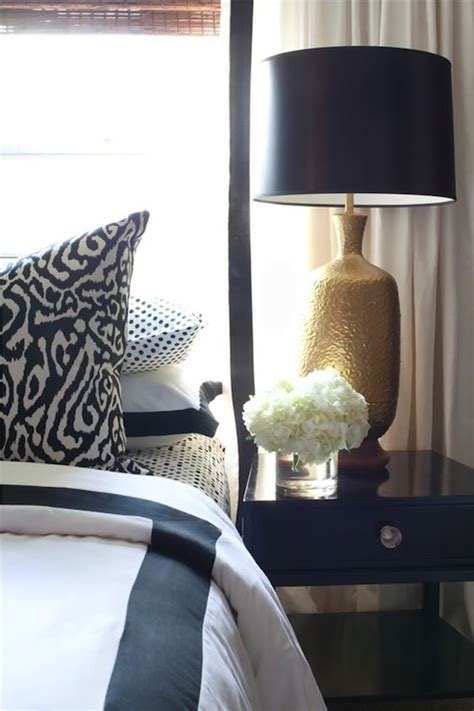 black gold and white bedroom black lacquer nightstand contemporary bedroom dayka