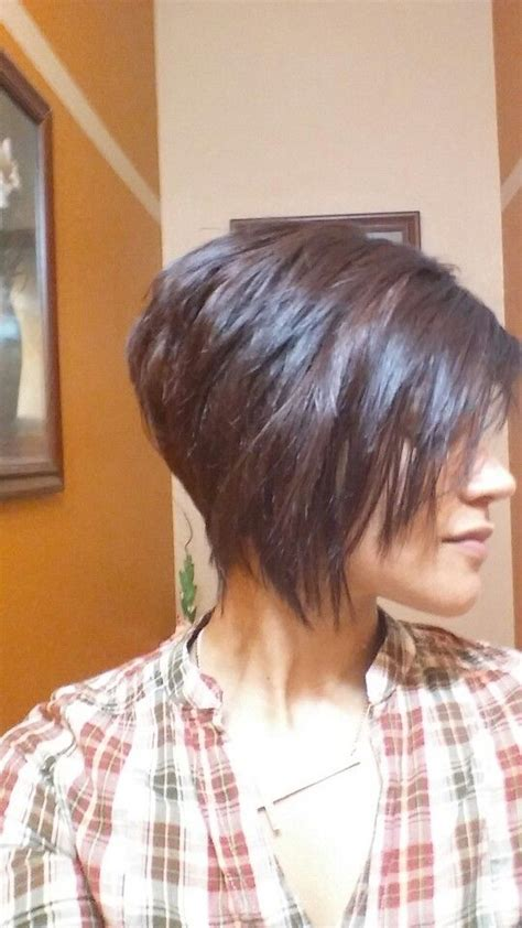 asymetrical ans stacked hairstyles best 25 short asymmetrical hairstyles ideas on pinterest