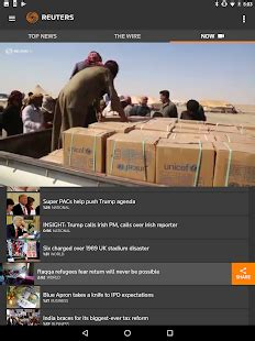 reuters news mobile reuters news app report on mobile