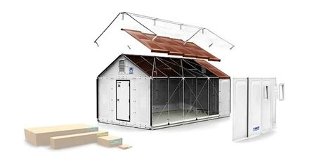designboom ikea ikea produces solar powered flat pack refugee shelters