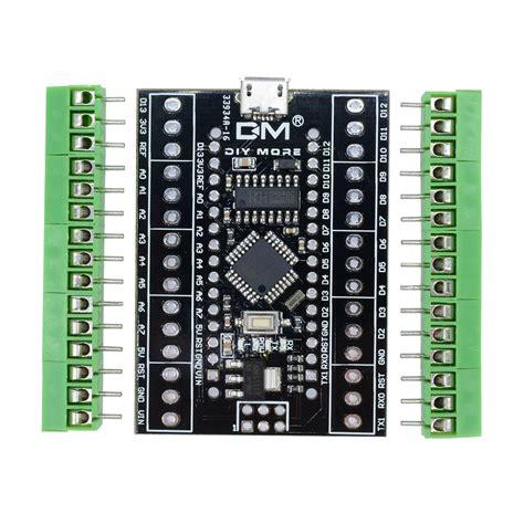 Arduino Nano 3 0 Ch340g Sudah Di Solder nano v3 0 ch340g atmega328 terminal adapter usb driver 5v