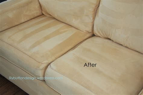 How To Clean Sofa Upholstery by How To Clean A Microfiber Lilybuttondesign