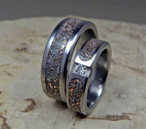 Handmade Hers - 2018 popular handmade mens wedding rings
