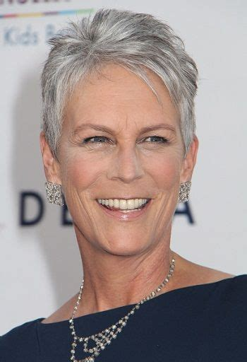 what hair colour was jamie lee curtis in her younger days jamie lee curtis classy celebrity hairstyles for women