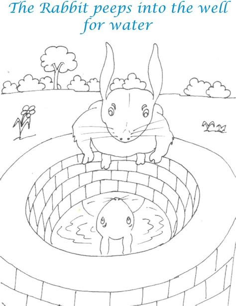 coloring page water well isaac digs the wells coloring pages
