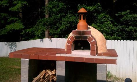 pizza oven construction project   steps