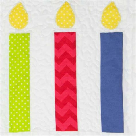 candlestick quilt pattern riley blake designs block of the month 2014 celebrate
