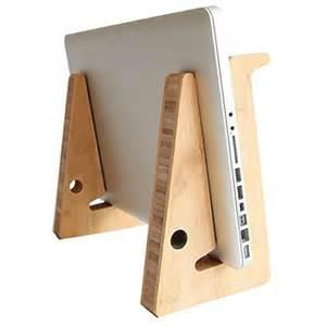 laptop desk holder foldable wood laptop stand dock computer tablet
