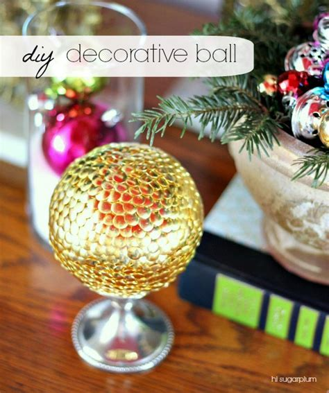 Decorative Balls Diy by Diy Decorative Balls A Craft In Your Day