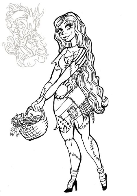 coloring images free printable nightmare before coloring pages