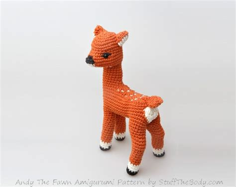 seamless amigurumi pattern andy the fawn amigurumi pattern seamless deer crochet
