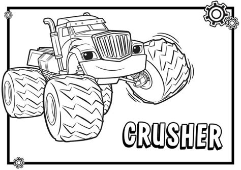 blaze coloring pages nick jr blaze and the monster machines coloring pages monsters