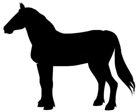 Aufkleber Pferd Silhouette by Aufkleber Belgisches Kaltblut Silhouette Pixers 174 Wir